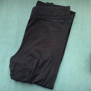 PINK | black leggings